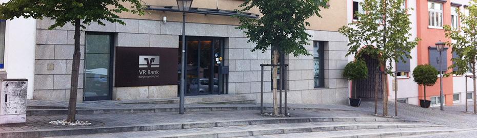 VR Bank Burglengenfeld eG, Geschäftsstelle Burglengenfeld, Marktplatz 8, 93133 Burglengenfeld