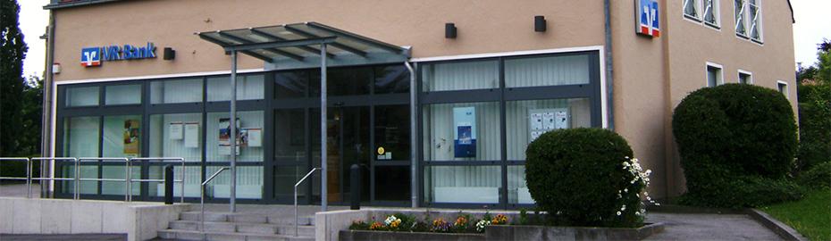 VR Bank Mittlere Oberpfalz eG, Geschäftsstelle Maxhütte-Haidhof, Bahnhofstr. 44, 93142 Maxhütte-Haidhof