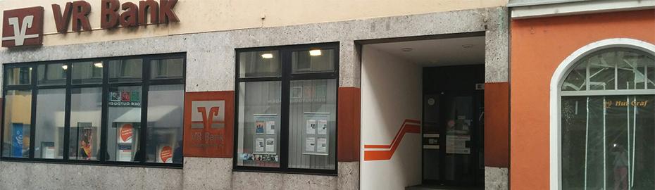 VR Bank Burglengenfeld eG, Geschäftsstelle Schwandorf, Schwaigerstr. 3, 92421 Schwandorf