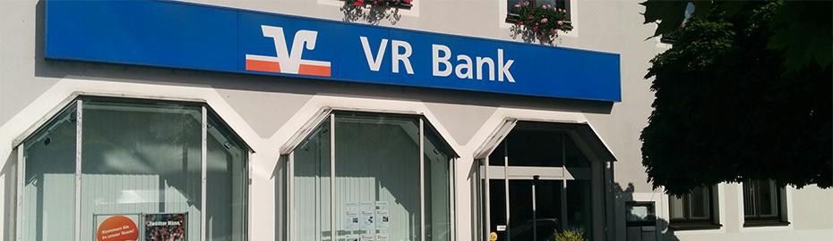 VR Bank Mittlere Oberpfalz eG, Geschäftstelle Teublitz, Am Raiffeisenplatz 1, 93158 Teublitz